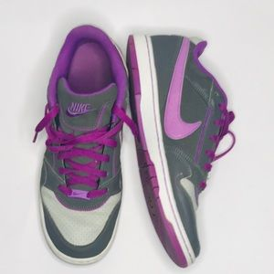 PURPLE NIKE SB DUNK SNEAKERS